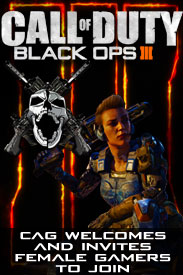 Recruiting Female Gamers for Black Ops 3