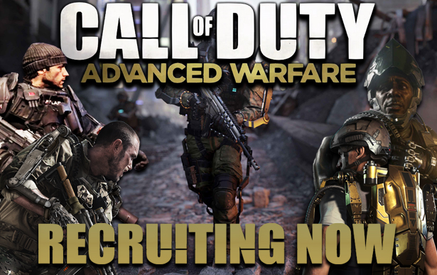 Recruiting for COD: Advanced Warfare