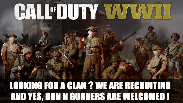 COD WW2 Clan Recruiting