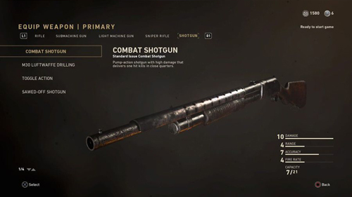 COD WW2 Weapons and Attachments