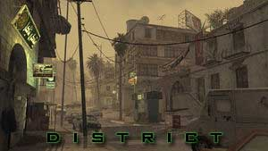 COD mw4 district map